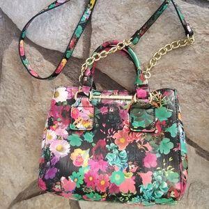 Small Steve Madden Floral Purse Handbag